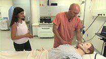 روبوتات بشرية لتدريب الأطباء والممرضين