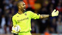 Wolves goalkeeper has leukaemia