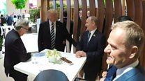 Як Трамп і Путін тисли руки на G20