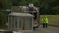 Girl, 14, dies in school trip crash