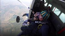 Killed keeper's mum in charity skydive