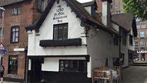 Historic pub celebrates 777th birthday