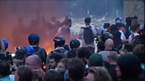 Anti-G20 riot on Hamburg streets