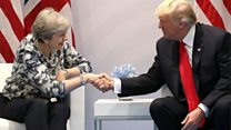 UK-US: 'Trade a very big factor'