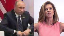 Зачем Путин сделал руки в боки?