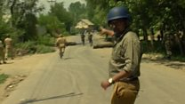 Clashes in Kashmir on anniversary of rebel leader's death