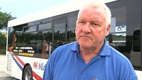 Questions over free bus travel pilot