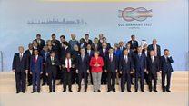 Macron move towards Trump at G20