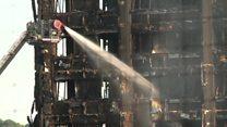 محدودیتهای امدادی در مهار آتشسوزی برج مسکونی لندن