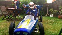 Newcomers take on soapbox race with canoe-kart