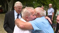 Wreck survivor meets rescuers after 53 years