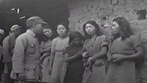 Revelan la primera filmación conocida de las esclavas sexuales del ejército japonés en la Segunda Guerra Mundial