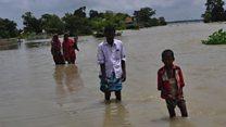 असम में बाढ़ से बिगड़े हालात
