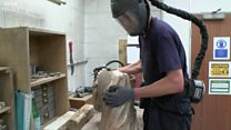 Jane Austen sculpture takes shape