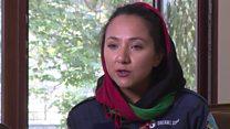 Ex-refugee flies solo around the world