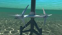WATCH: Animation of tidal turbines