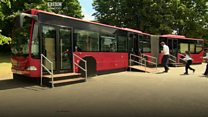 Watch: All aboard the music bus