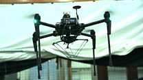 The drone inspired by spiders