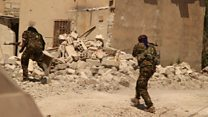 ТВ-новости: уличные бои в Ракке