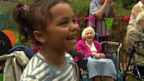 UK's first nursery in care home to open