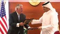 امضای یادداشت تفاهم میان آمریکا و قطر