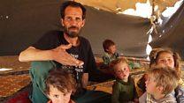 Raqqa displaced: 'Where to go?'