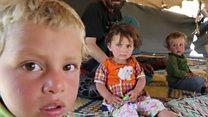「どこに逃げたらいいのか」 シリア・ラッカの避難民