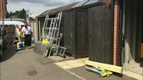 Planning error leads to garage demolition