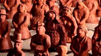 Terracotta army takes stand for dementia