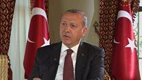 أردوغان: الحديث عن سجن 170 صحفيا هو أكاذيب