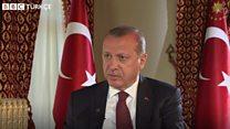 Erdoğan BBC'ye konuştu: 'Halkımın büyük çoğunluğu AB'yi istemiyor'