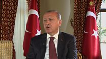 Erdogan: Interview exclusive