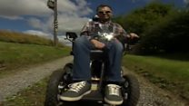 East Yorkshire man's wheelchair mountain challenge