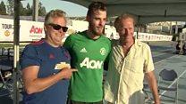 Thrones stars pick Man Utd's 'Mountain'