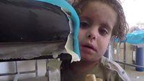 「赤ちゃんの泣き声しか聞こえない」 イラク・モスルで