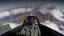20-year-old pilot flies with US Air Force display team