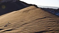 Así suena una duna en el desierto de Atacama en Chile