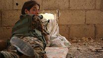 """Запеклий опір """"ІД"""" у місті Ракка - репортаж ВВС"""