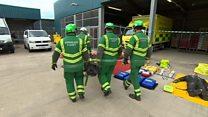 Ambulance response unit ready for the worst