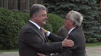 ТВ-новости: чего хотят друг от друга Украина и ЕС