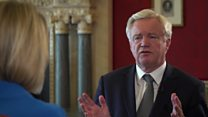 Davis on repeal bill and EU nuclear deal