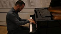 A few minutes of serenity and beauty from Igor Levit