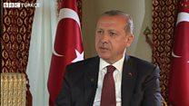 Erdoğan: Terör örgütü mensubu olanları devlet niye beslesin?