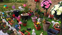 Neighbours celebrate 'joyous' garden