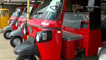 India exports tuk-tuks to Africa
