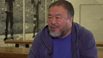 Ai Weiwei 'shocked' by Liu Xiaobo death