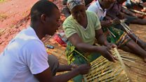 Indian twist for Africa's basket weavers