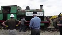 Seaside town takes in old locomotive