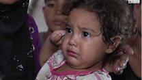 بي بي سي ترصد معاناة نازحي الموصل داخل مخيم الخازر
