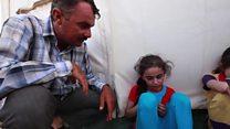 Musul'da sevdikleriyle birleşen çocuklar
